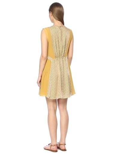 NetWork Elbise Sarı